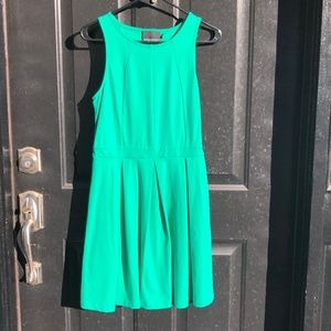 Cynthia Rowley Green small flare dress